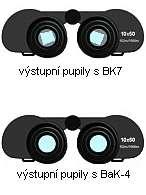 Optické sklo BK7 a BaK4