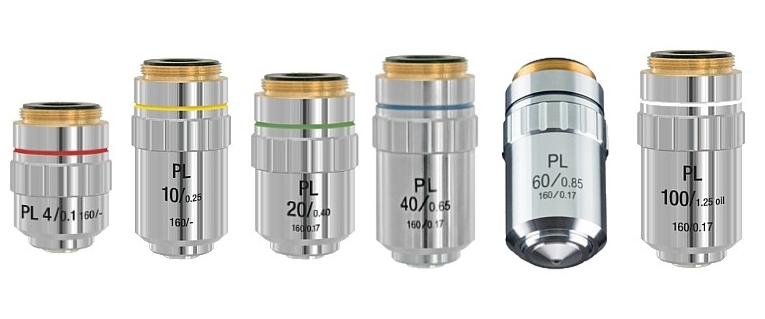 Objektivy pro mikroskopy