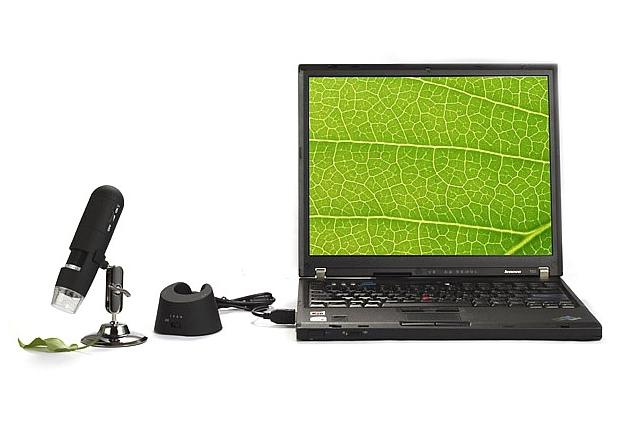Digitální mikroskop s monitorem