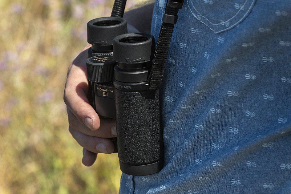 Dalekohledy Nikon Monarch HG s velmi širokým zorným polem